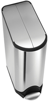 Simplehuman 45L Butterfly Step Can with Bonus 60 Pack Liners