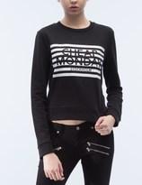Cheap Monday Stripe Logo Win Sweater