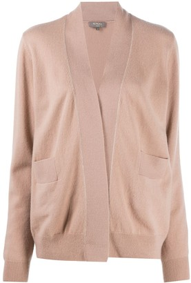 N.Peal Chain Detail Cashmere Cardigan