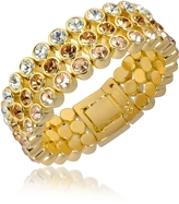 A-Z Collection Three-tone Crystal Bracelet