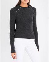 Etoile Isabel Marant Koyie cotton and wool-blend jumper