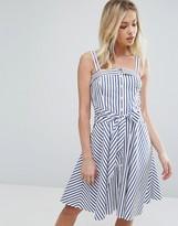 Polo Ralph Lauren Stripe Dress With Tie Waist