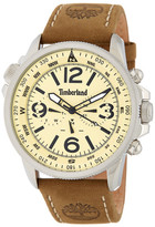 Timberland Men&s Campton Multifunction Leather Strap Watch
