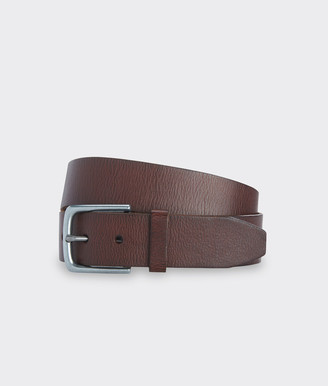 Vineyard Vines Solid Distressed Leather Belt
