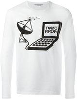 Stella McCartney Tomorrow print long sleeve T-shirt