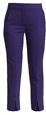Max Mara Women's Sassari Front Slit Slim-Fit Pants