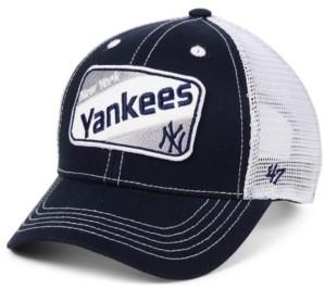 '47 Little Boys New York Yankees Woodlawn Meshback Mvp Snapback Cap