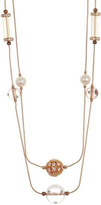 Carolee Layered Station Necklace