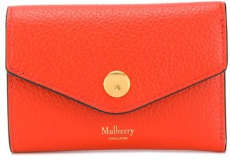 Mulberry Folded Multi-Card Slot Wallet