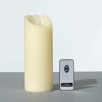 OKA Pillar LED Candle, Tall - Ivory