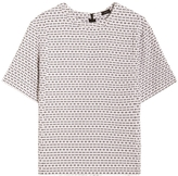 Joseph Lou Optic Jacquard Blouse