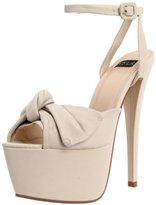N.Y.L.A. Women's Jollie Ankle-Strap Sandal