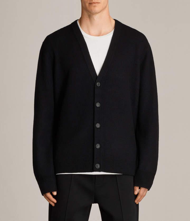 AllSaints Wregan Buttoned Cardigan