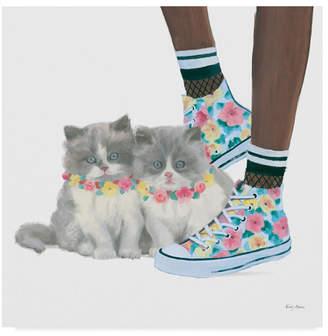 "Emily Adams Cutie Kitties Vii Canvas Art - 15"" x 20"""