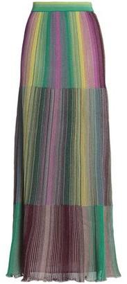 M Missoni Metallic Crochet-knit Maxi Skirt