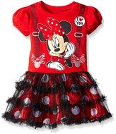 Disney Toddler Girls Minnie Mouse I Love You Tutu Dress (T)
