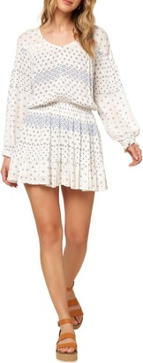 O'Neill Amaryn Long Sleeve Minidress