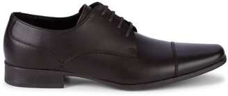Calvin Klein Bachman Leather Lace-Up Shoes