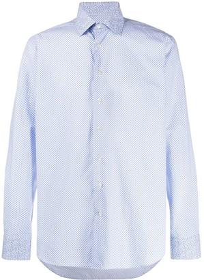 Etro Floral-Print Regular-Fit Shirt