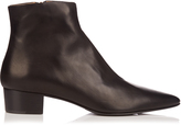 The Row Ambra leather ankle boots