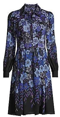 Elie Tahari Women's Hellen Floral Shirtdress - Size 0