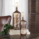 Uttermost Ginevra Glass Bottles S/2