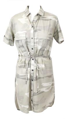 Rails Khaki Linen Dress for Women