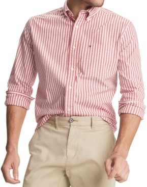 Tommy Hilfiger Men's May Classic-Fit Stretch Plaid Shirt