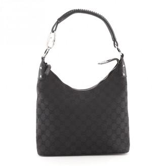 Gucci Black Leather Handbags