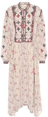 Etoile Isabel Marant Inesia georgette midi dress