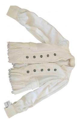 Free People Ecru Linen Jackets
