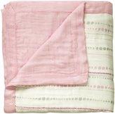 Aden Anais aden + anais Silky Soft Dream Blanket - Tranquility/Beads