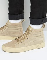 Vans Sk8-Hi Mte Sneakers In Beige Va33txlr5
