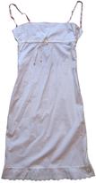 Miu Miu White Cotton Dress