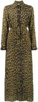 Bella Freud leopard love dress