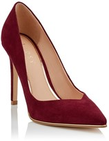 Lipsy Suedette Pointed Court Shoe