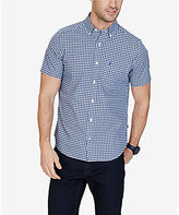 Nautica Plaid Short-Sleeve Woven Shirt