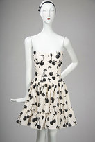 JILL STUART Strapless Cherry Print Dress