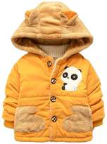 Happy Cherry Boys Outerwear Jackets Warm Hooded Coat for Toddler Kids 3T