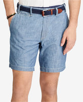 "Polo Ralph Lauren Men's 8-1/2"" Straight Cotton Chambray Shorts"