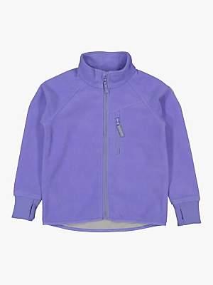 Polarn O. Pyret Children's Fleece Jacket, Lilac