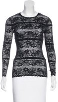 Lover Lace Long Sleeve Top