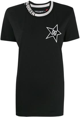 Dolce & Gabbana Star Queen T-shirt