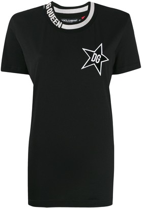 Dolce & Gabbana Star Queen T-shirt