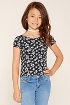 Forever 21 FOREVER 21+ Girls Floral Top (Kids)