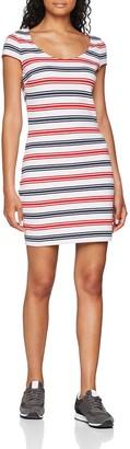 Tommy Jeans Women's Bodycon Short Sleeve Bodycon Dress