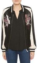 Sanctuary Women's Sakura Blossom Bomber Jacket