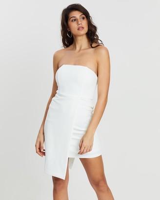 Loreta - Women's White Mini Dresses - Malibu Dress - Size One Size, L at The Iconic