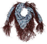 Etoile Isabel Marant Printed Silk Scarf