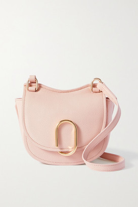 3.1 Phillip Lim Alix Mini Hunter Textured-leather Shoulder Bag - Blush